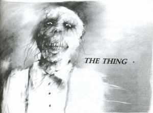 "Illustration from ""The Thing"""